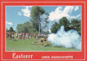 Massachusetts Lenox Eastover Resort Old Weapons Demonstration Firing Canons