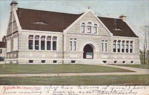 Exterior,  Lithgow Library,  Augusta,   Maine,  00-10s