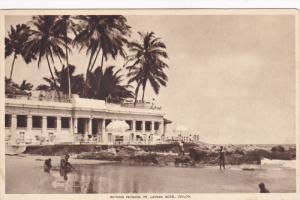 CEYLON, Sri Lanka, 1900-1910's; Bathing Pavilion, Mt. Lavinia Hotel