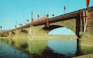 Lake Havasu City, Arizona, AZ, London Bridge, Chrome Vintage Postcard g5717