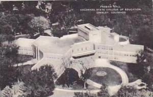 Colorado Greeley Frasier Hall Colorado State of Education Artvue