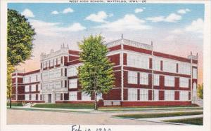 West High School Waterloo Iowa