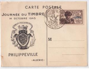 Jounee Du Timbre 1945, Philippeville (Algerie)