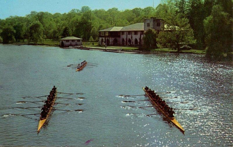 Rowing - Princeton University Crews at Carnegie Lake, NJ