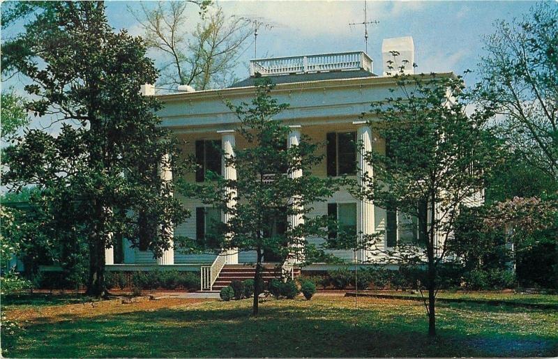 Washington Georgia~Pembroke Pope House~Greek Revival Style~Widow's Walk 1950s