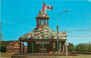 Port Arthur Ontario~Canadian Lakehead~Pagoda Tourist Bureau~1966 Postcard