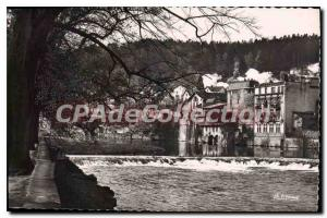 Old Postcard Epinal Vosges dam the Moselle