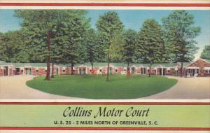 South Carolina Greenville Collins Motor Court