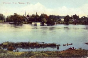 WAUSAU, WI VIEW OF WISCONSIN RIVER