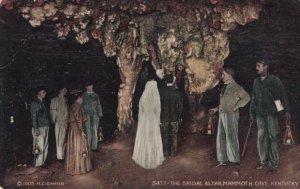 MAMMOTH CAVE, Kentucky, 1900-10s; The Bridal Altar