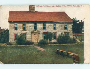 Divided-Back HISTORIC HOME Pawtucket Rhode Island RI hJ5001