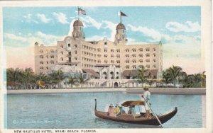 Florida Miami Beach New Nautilus Hotel Curteich sk3643