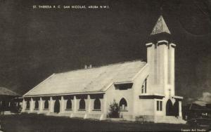 aruba, N.W.I., St. Theresa Roman Catholic San Nicolas Church (1940s)