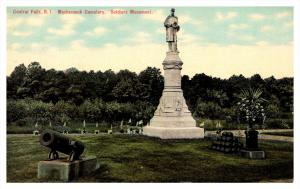 Rhode Island Central Falls , Moshassuck Cemetery , Soldier's Monument