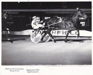 NORTHFIELD PARK Harness Horse Race, MABEL E Wins Race