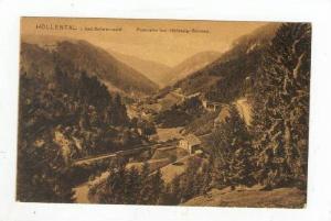 Panorama Bei Hollsteig-Sternen, Höllental i. Bad Schwarzwald (Bavaria), Germ...
