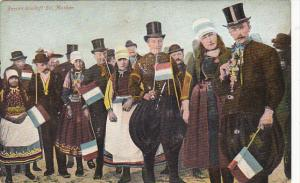 Netherlands Marken Peolpe In Typical Costume