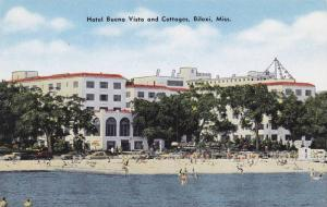 The Hotel Buena Vista and Cottages,  Biloxi,  Mississippi,  40-60s