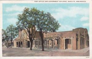 New Mexico Santa Fe Post Office And Government Building 1926