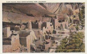 MESA VERDE NATIONAL PARK, Colorado, 1910-30s; Cliff Palace