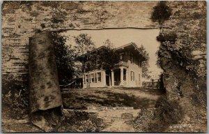 1907 Galena, Illinois RPPC Postcard GENERAL GRANT'S HOME - C.M. NELSON Photo