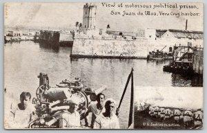 San Juan de Ulloa~Notorious Political Prison~Max Stein Chicago~US Jackies 1914