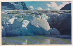 Canada Ice Front Athabasca Glacier Alberta