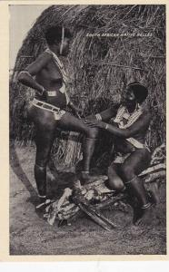 South African Topless Native Belles, South Africa, 1900-1910s