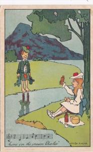Hunour Scotland Come O'er The Stream Charlie 1904