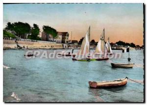 Modern Postcard La Bernerie en Retz Port Shelter