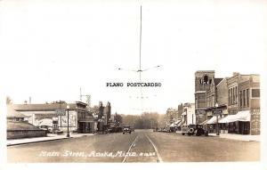 ANOKA, MINNESOTA MAIN STREET-1920'S-30'S ERA RPPC REAL PHOTO POSTCARD