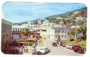 Street , Charlotte Amalie, St Thomas,Virgin Islands, 40-60s