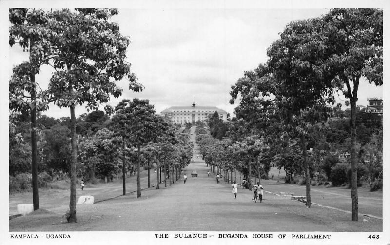 Uganda Kampala The Bulange Buganda House of Parliament Postcard