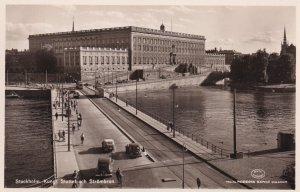 RP; STOCKHOLM, Sweden, 1920-1940s; Kungl.  Slottet Och Strombron
