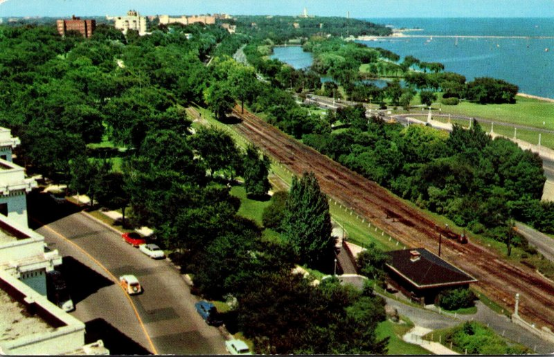 Wisconsin Milwaukee View Of The Lakefront