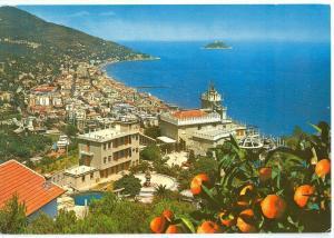 Italy, Riviera dei Fiori, Alassio, Panorama da ponente, 1983 used Postcard