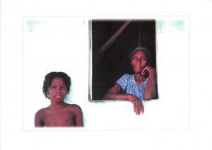 BF36390 bahia grandma and nephew types folklore brasil  front/back scan