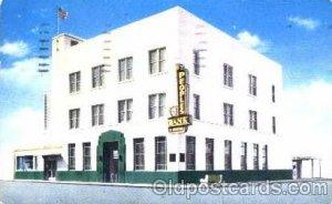 Peoples Bank of lakeland, Florida USA 1957 light postal marking on front of c...
