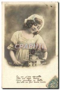 Postcard Old Child Cards