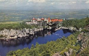Mohonk Lake New York Mountain House~Rondout Valley from Sky Top Path~1960-70s Pc