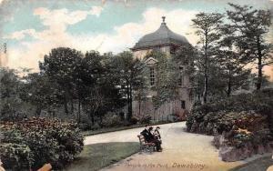 Dewsbury Temple in the Park Bench Promenade 1905