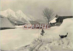 Postcard Modern Radostne Vanoce has Novyrok