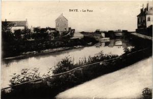 CPA BAYE - Le Pont (456721)