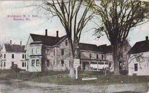 Maine Brooks M J Dow Residence