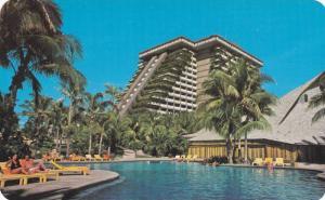 View Of The Modern Acapulco Princess Hotel, Swimming Pool, Acapulco, Guerrero...