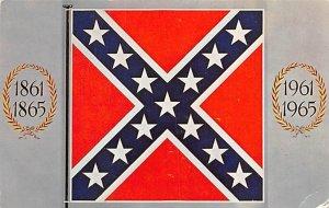 Confederate battle flag USA Civil War 1964