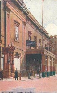 Postcard England London 1900s Lane theatre