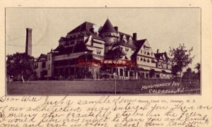 pre-1907 MONOMONOCK INN, CALDWELL, N. J. 1903