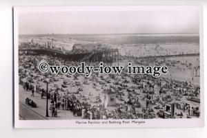 tp0822 - Kent - The Marine Pavilion & Bathing Pool c1930s, Margate - postcard