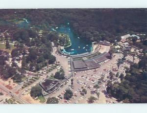 Unused Pre-1980 AERIAL VIEW Silver Springs In Ocala Florida FL A4198